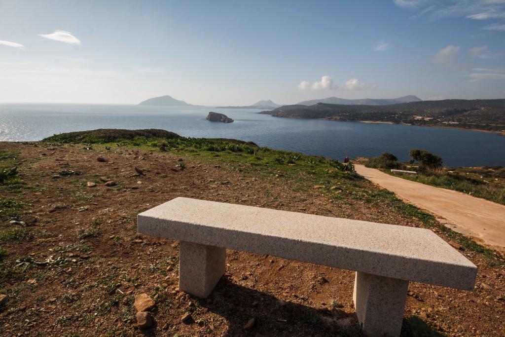 Аутентичная скамейка