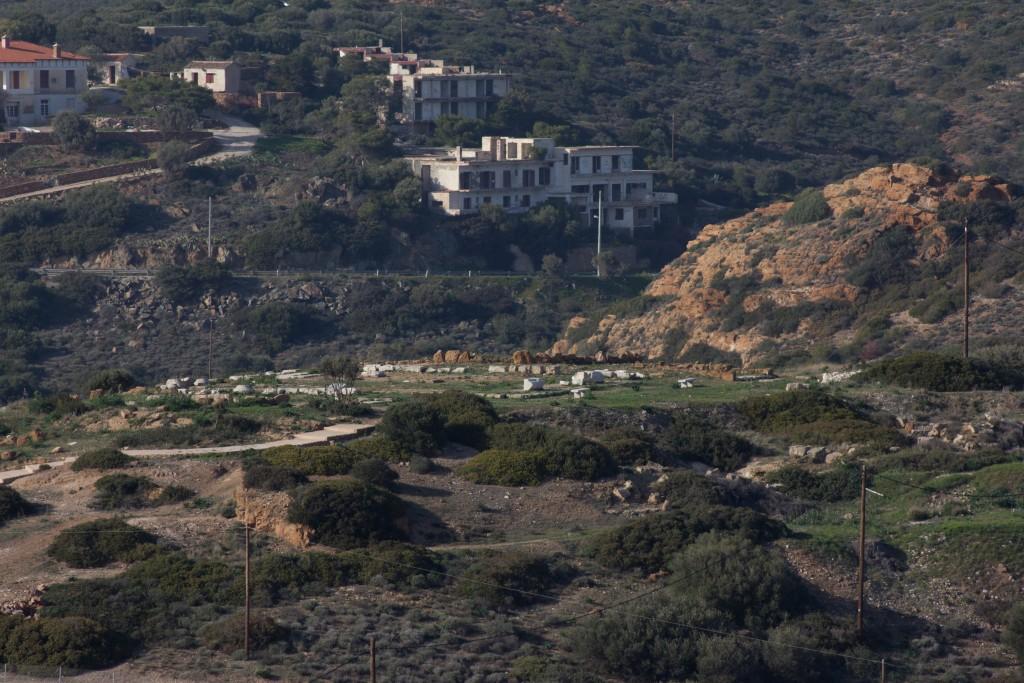 Развалины храма Афины