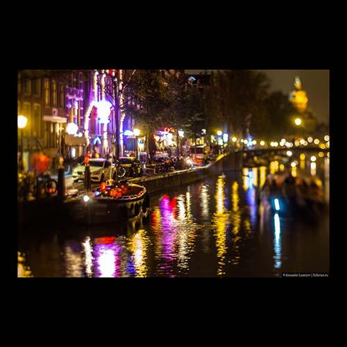 Амстердам, Красные фонари